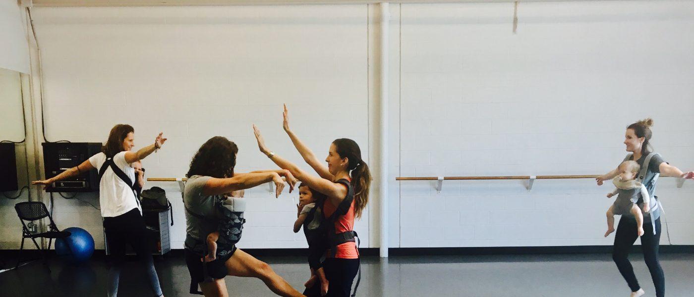 Babywearing Dance Class – Fall 2017