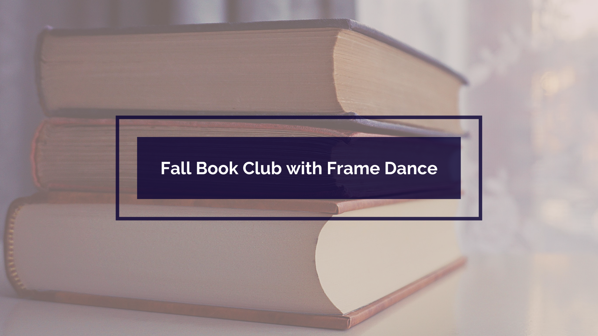 Fall Book Club